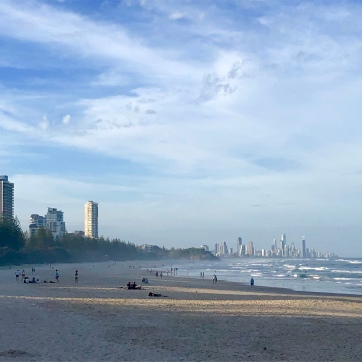 Gold Coast skyline from Burleigh Heads