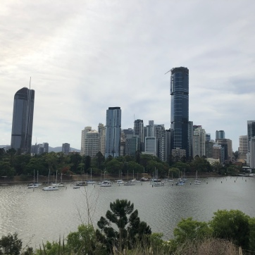 Brisbane from Kangaroo Cliffs